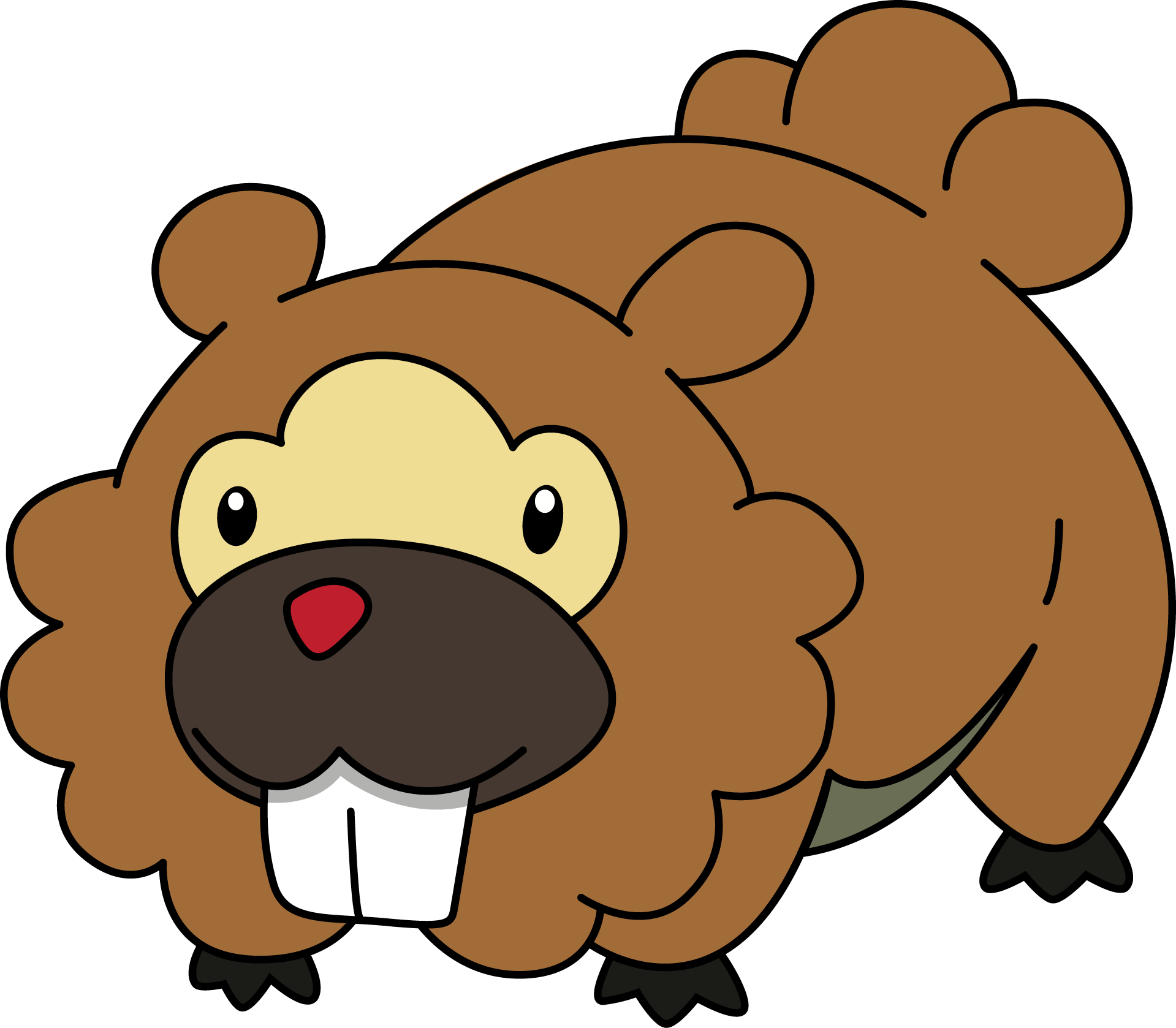 How To Draw Bidoof
